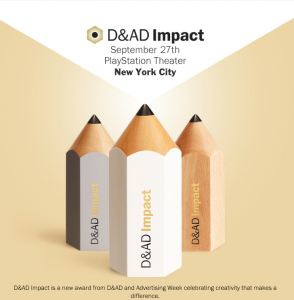 White Pencil Award @ D&AD Impact for the Purity Test Campaign, developed by Cohn And Jansen JWT