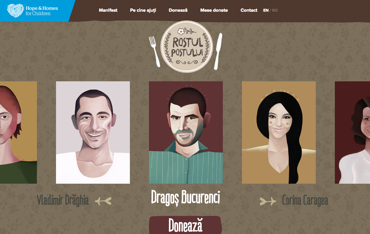 Rostul Postului - The Website homepage